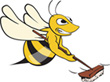 Busby bee sweeping
